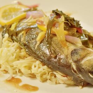 Видео рецепт: Цела печена риба со азиски вкусови