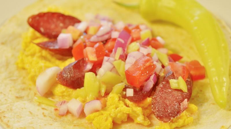 Видео рецепт: Мексикански појадок