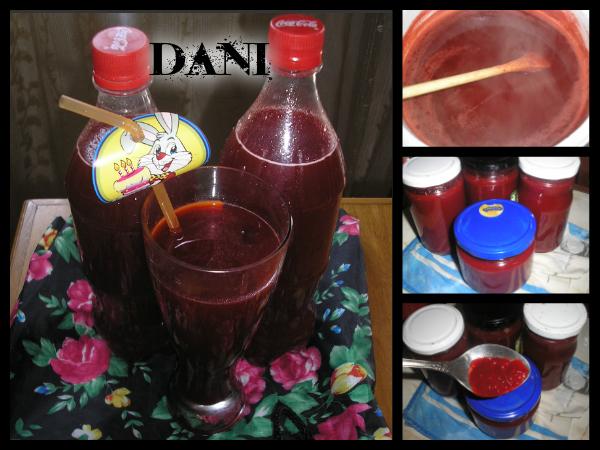 Неварен сок од сезонско овошје