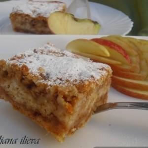 Посен јаболков колач