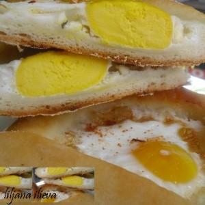 Јајца во тесто