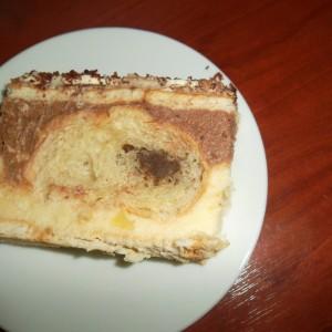 Непечена торта со кроасани