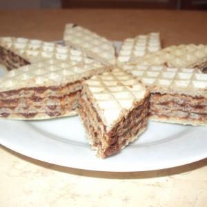 Обланди со чоколаден фил