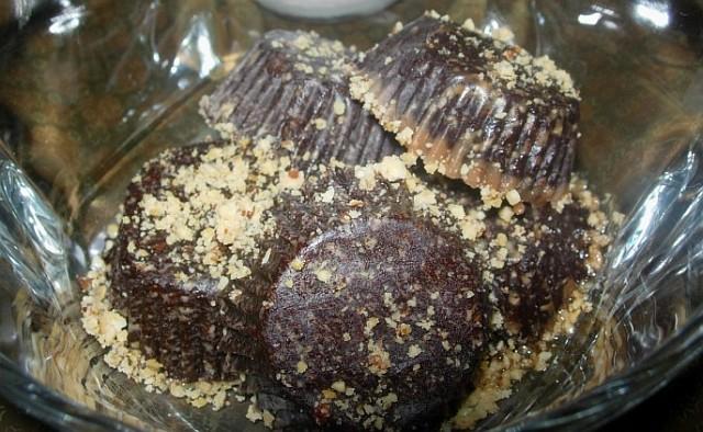 Чоколадни сирови колачиња