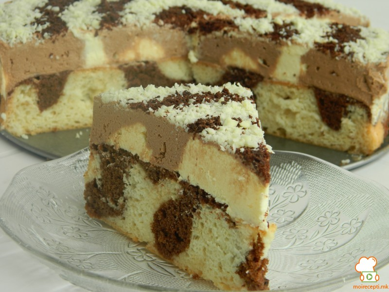 Далматинец торта