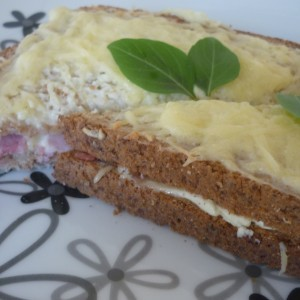 Крцкав господин (Француски сендвич)