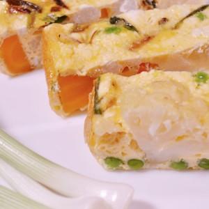 Видео рецепт: Фритата со зеленчук и сирење