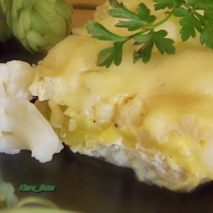 Карфиол со кајмак во рерна