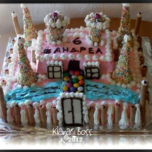 Замок торта