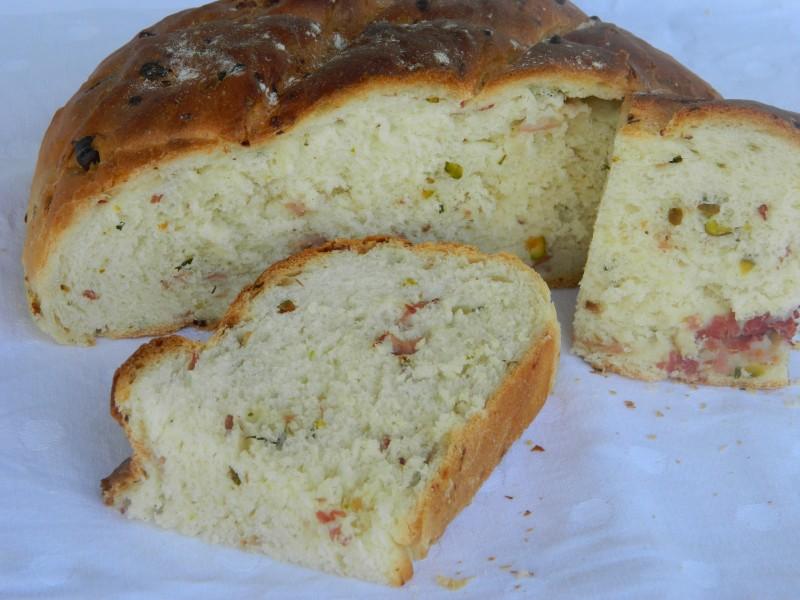 Леб со пршута и фстаци