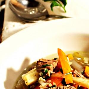 Шкотска телешка супа