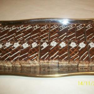 Чоколадни обланди со таан алва