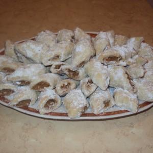 Посни колачиња со јаболка и рум