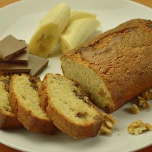 Видео рецепт: Леб со банани и чоколадо