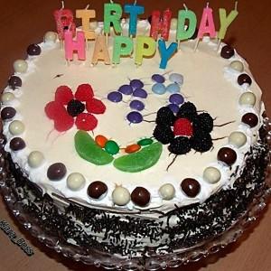 Брза роденденска торта
