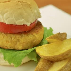 Видео рецепт: Вегетаријанска плескавица со наут