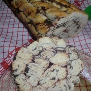 Спирален мраморен колач