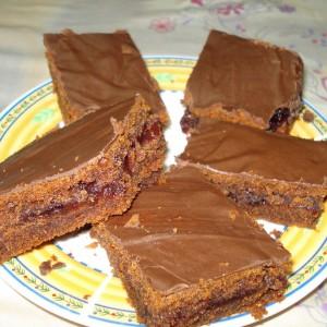 Посна торта со мармалад