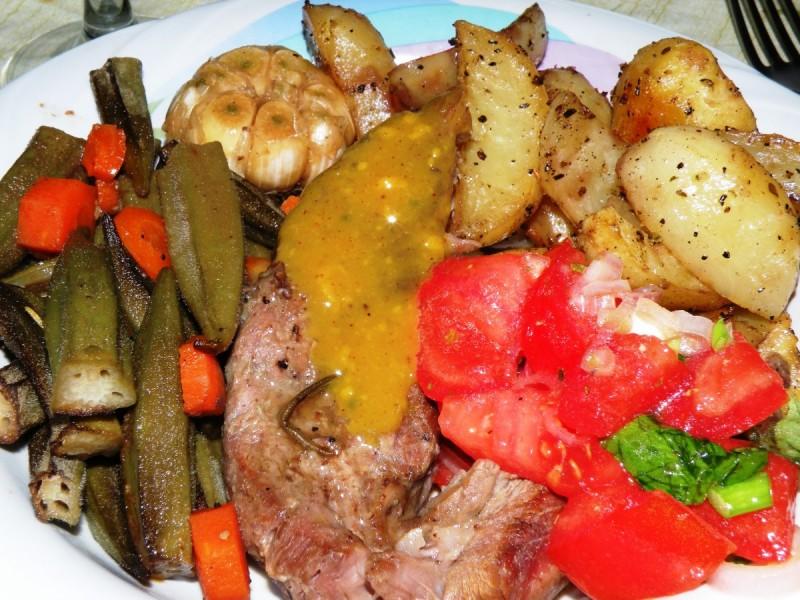Бавно печено телешко месо