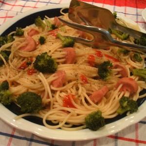 Шарени шпагети