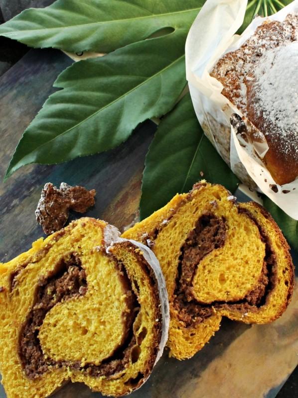 Штрудла со тесто од тиква и фил од ореви