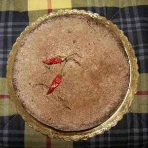 Чоколадна торта со лути пиперчиња