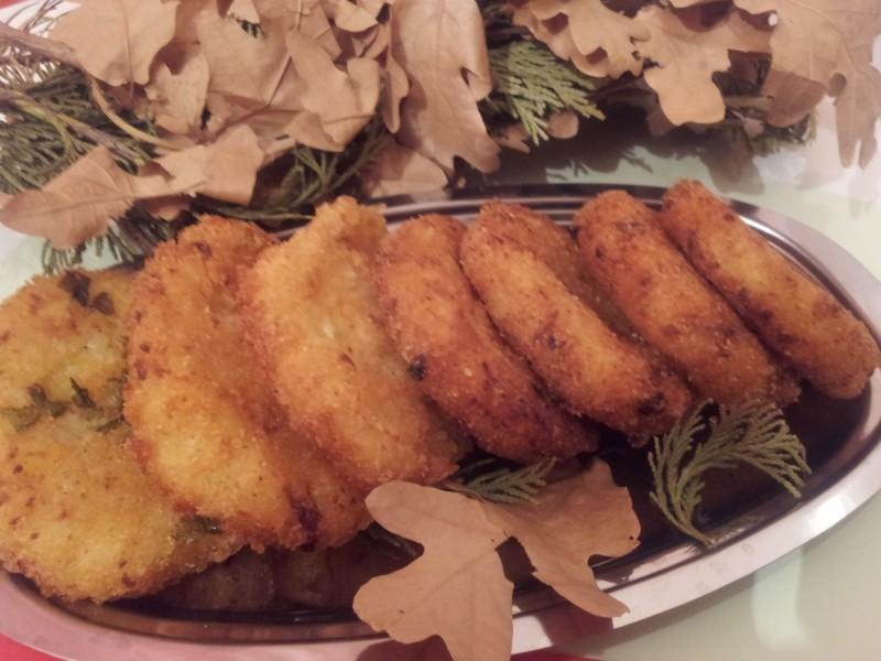 Плескавици од ориз и компири