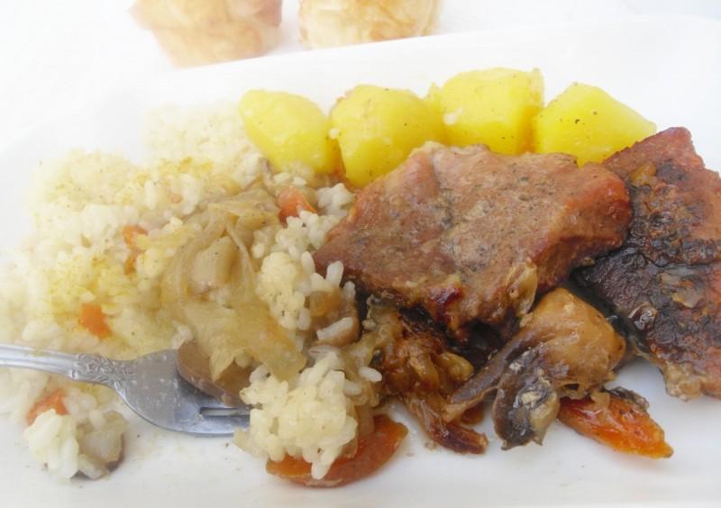 Свинско на кромид