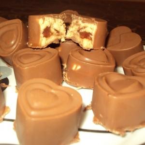 Чоколадни срциња со маскарпоне