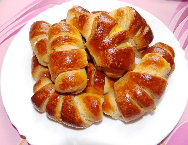 Кифли од хељдино брашно со павлака