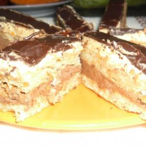 Мини торта со кикирики
