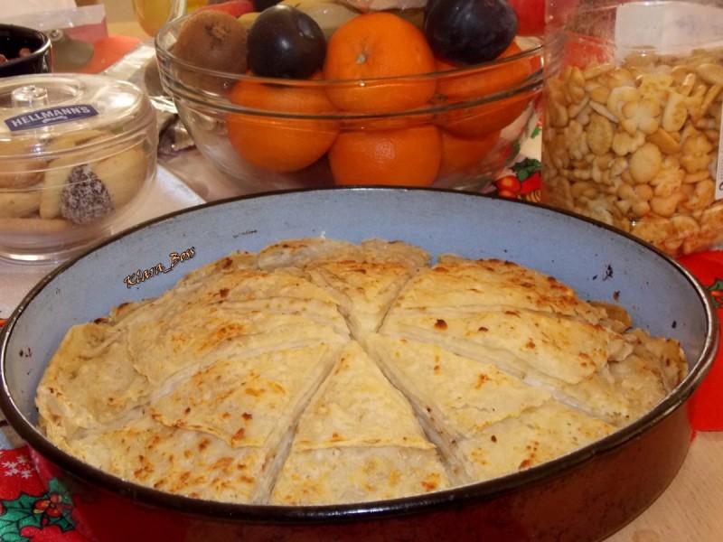 Потпечени редени питулици (со сирење или со лук и орев)
