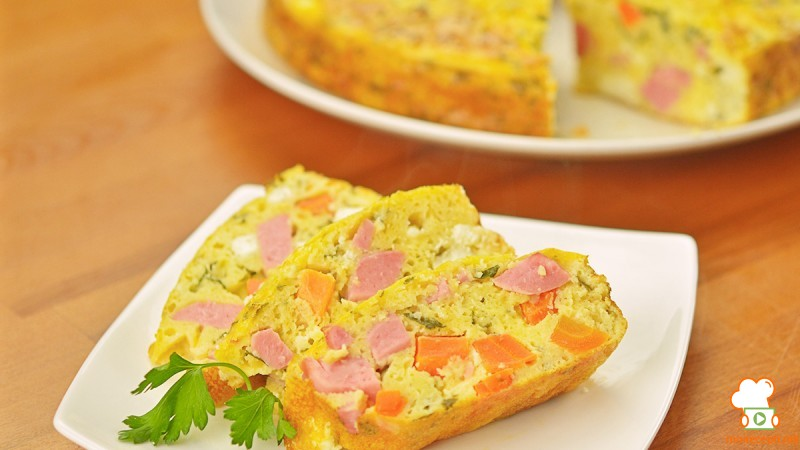 Видео рецепт: Солена торта