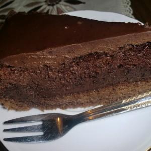 Чоколадна торта со Нутела и портокал