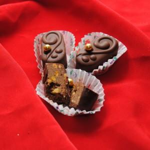 Чоко моко со фстаци со нутела