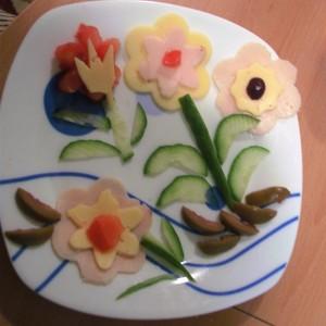 Рамка од цветови
