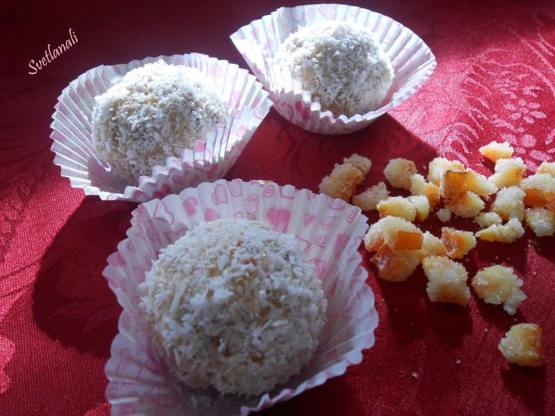 Бомбици со слатка павлака и аранчини