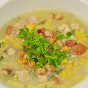 Видео рецепт: Чорба со пченка и сланина