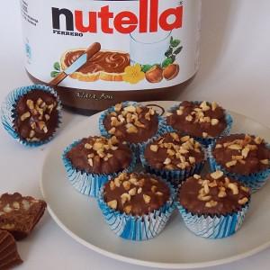 Чоколадни корпиња со Нутела
