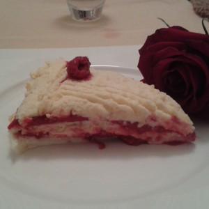 Торта со малини