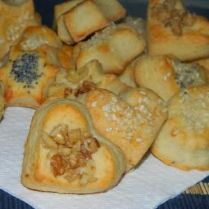 Солени колачиња со горгонзола