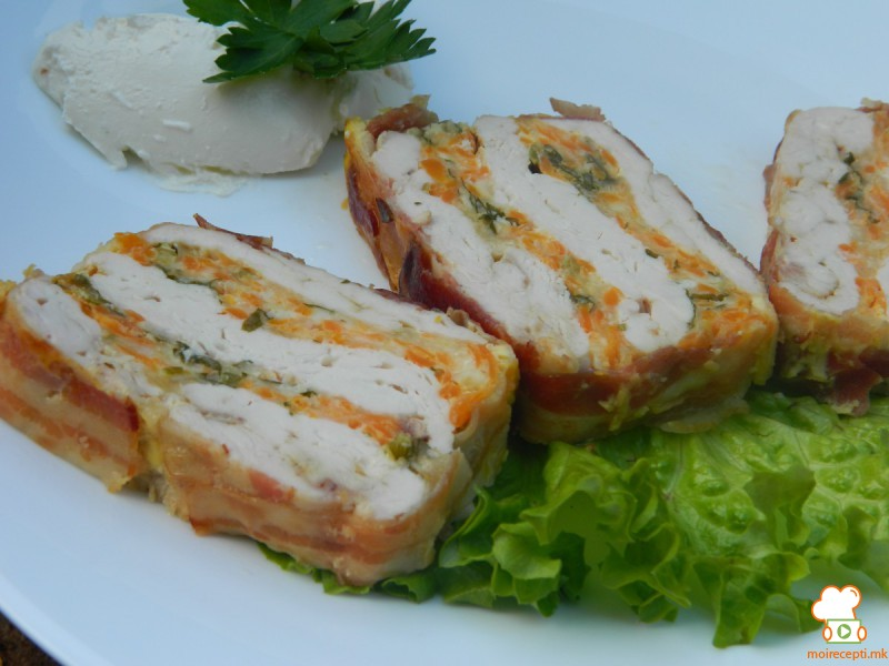 Колач од пилешко бело месо