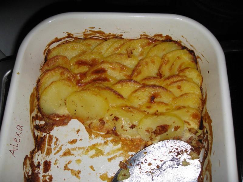 Гратиниран компир