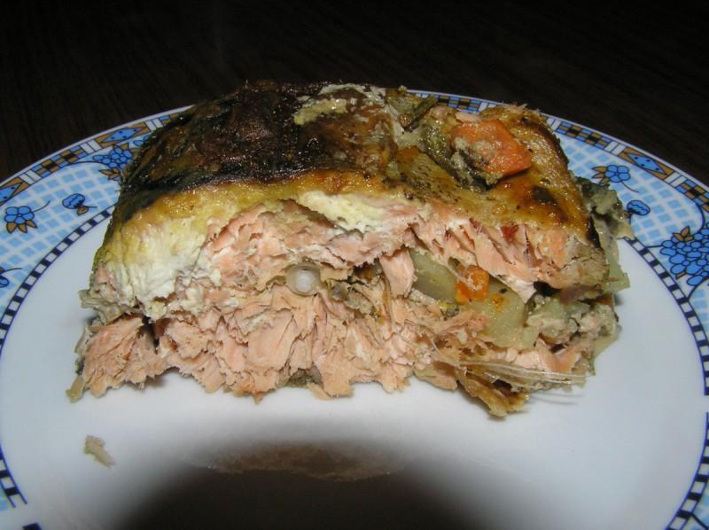 Полнет лосос