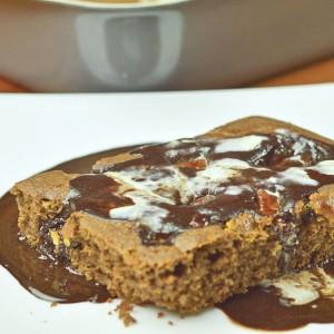 Видео рецепт: Чоколаден колач со сос