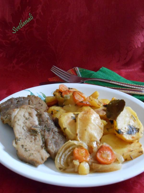 Печени кременадли со компири