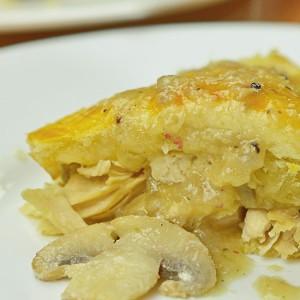 Видео рецепт: Пита со пилешко и печурки