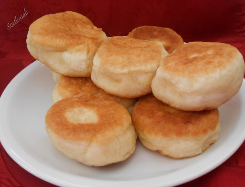 Солени посни крофни