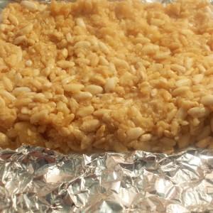 Оризови снегулки со карамел млеко
