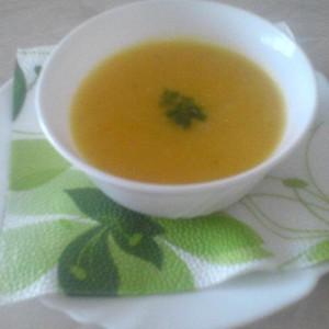 Посна крем супа од тиква и кари